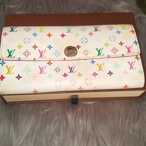 Louis Vuitton multicolor long wallet